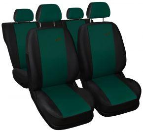 калъфи за седалки универсален XR зелен