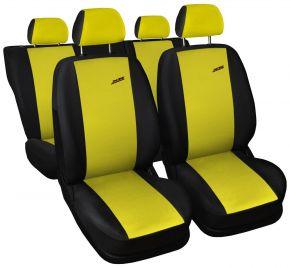 калъфи за седалки универсален XR žlté